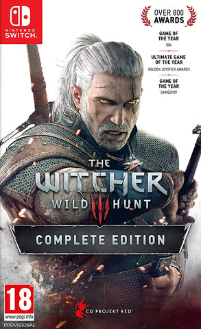 The Witcher 3 Wild Hunt Complete Edition (Nintendo Switch) - GameShop Asia
