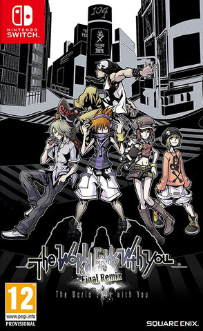 The world Ends With You Final Remix (Nintendo Switch)