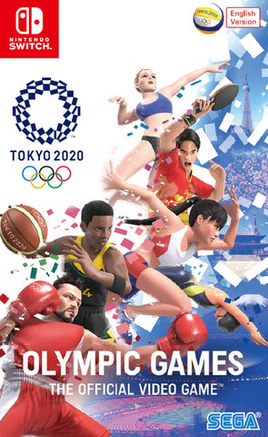 Olympic Games Tokyo 2020: The Official Video Game (Nintendo Switch) - GameShop Asia
