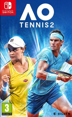 AO Tennis 2 (Nintendo Switch) - GameShop Asia