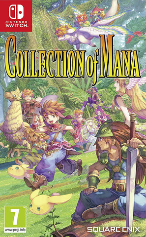 Collection of Mana (Nintendo Switch) - GameShop Asia