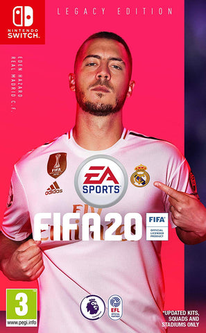 FIFA 20 Legacy Edition (Nintendo Switch) - GameShop Asia