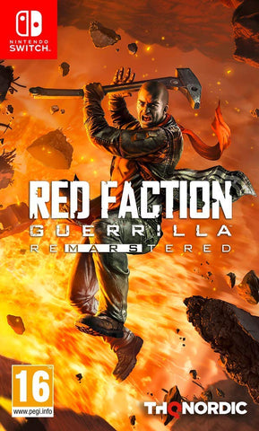 Red Faction Guerilla Re-Mars-Tered (Nintendo Switch) - GameShop Asia