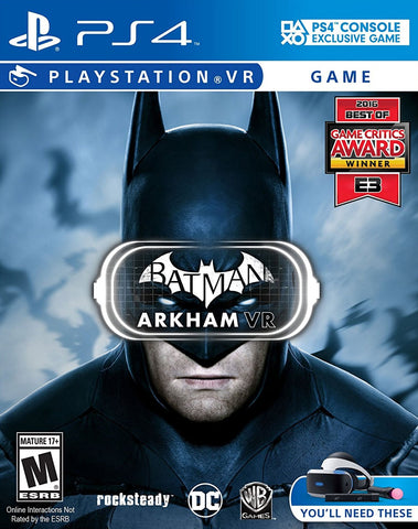 Batman Arkham VR (PS4) - GameShop Asia