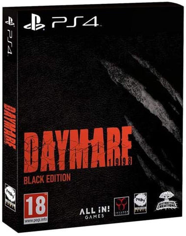 Daymare: 1998 Black Edition (PS4) - GameShop Asia