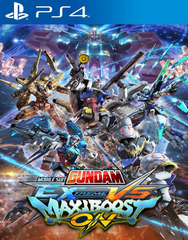 Mobile Suit Gundam: Extreme vs Maxiboost On (PS4/Asia) - GameShop Asia