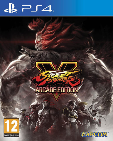 Street Fighter V Arcade Edition (PS4) - GameShop Asia