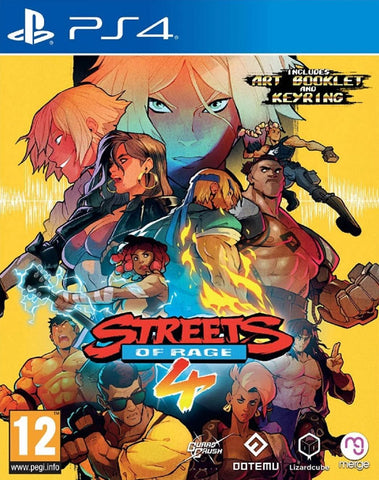 Streets of Rage 4 (PS4) - GameShop Asia