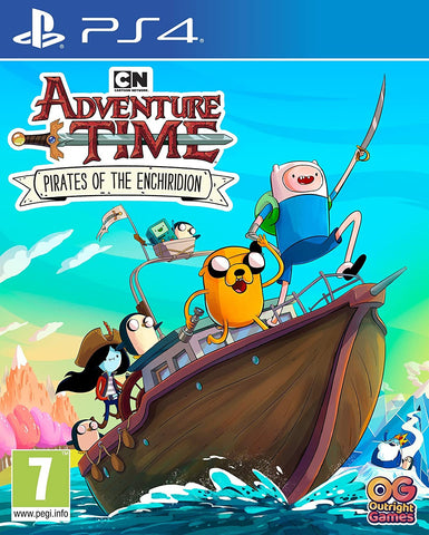 Adventure Time Pirates of The Enchiridion (PS4) - GameShop Asia