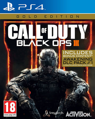 Call of Duty Black Ops 3 Gold Edition (PS4) - GameShop Asia