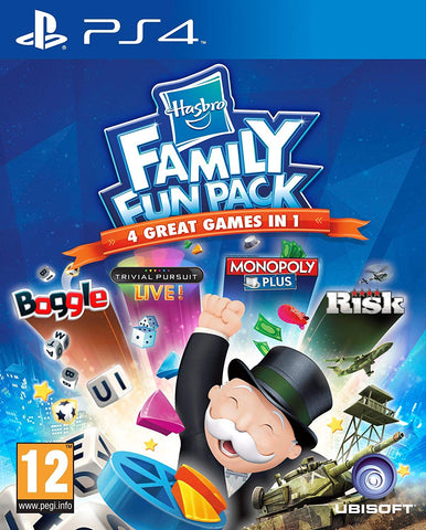 Hasbro Family Fun Pack (PS4) - GameShop Asia