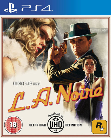 L.A. Noire Remastered (PS4) - GameShop Asia