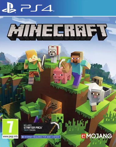 Minecraft Starter Pack (PS4) - GameShop Asia