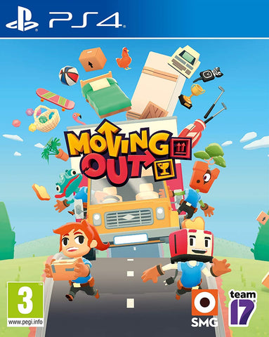 Moving Out (PS4) - GameShop Asia