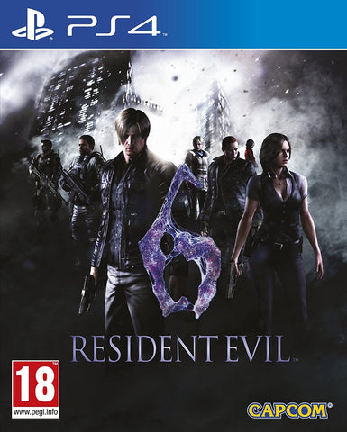 Resident Evil 6 (PS4) - GameShop Asia