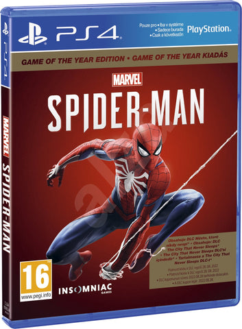 Marvel's Spider-Man: Game of The Year Edition (PS4) - GameShop Asia