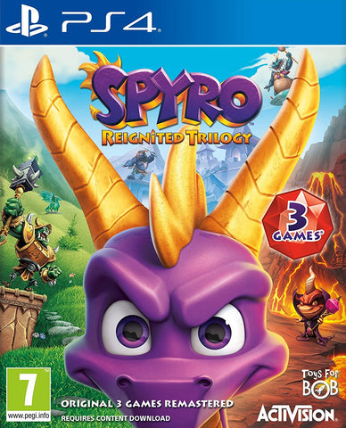 Spyro Reignited Trilogy (PS4) - GameShop Asia