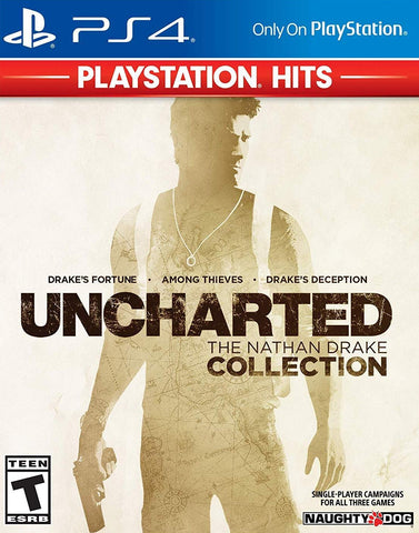 Uncharted Nathan Drake Collection (PS4) - GameShop Asia