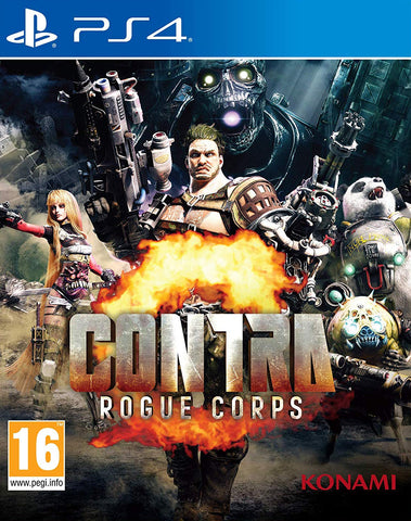 Contra: Rogue Corps (PS4) - GameShop Asia
