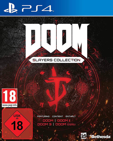 Doom Slayers Collection (PS4) - GameShop Asia