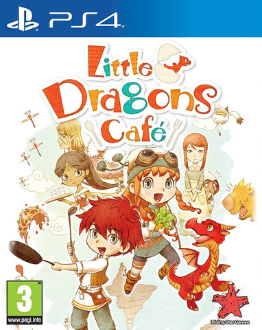 Little Dragons Cafe (PS4) - GameShop Asia