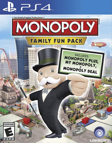 Monopoly Family Fun Pack (PS4) - GameShop Asia