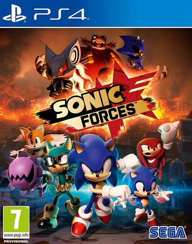Sonic Forces (PS4) - GameShop Asia