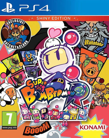 Super Bomberman R Shiny Edition (PS4) - GameShop Asia