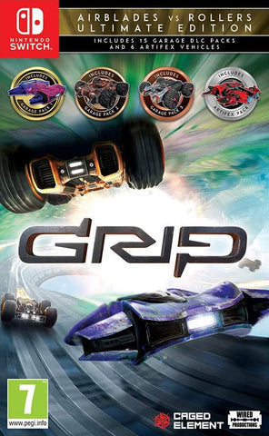 Grip Combat Racing - Rollers Vs Airblades Ultimate Edition (Nintendo Switch) - GameShop Asia