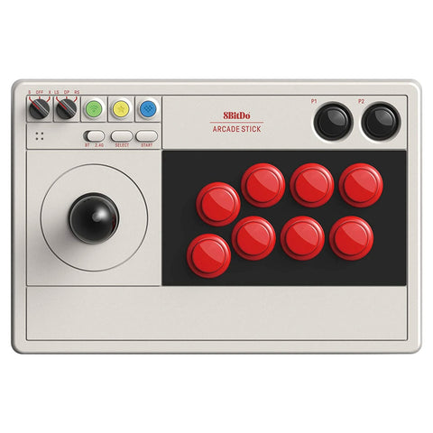 8Bitdo Bluetooth Arcade Stick for Nintendo Switch and Windows - GameShop Asia