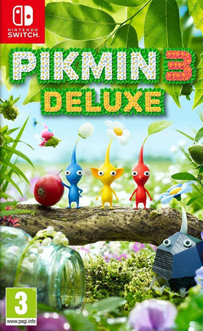 Pikmin 3 Deluxe (Nintendo Switch) - GameShop Asia