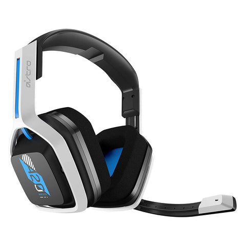 Astro Gaming A20 Wireless Headset Gen 2 for PS5, PS4, PC, Mac White Blue - GameShop Asia