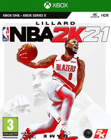NBA 2K21 (Xbox One/Asia) - GameShop Asia