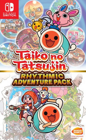 Taiko No Tatsujin Rhythmic Adventure Pack (Nintendo Switch) - GameShop Asia