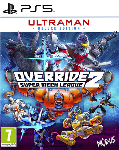 Override 2 Super Mech League Ultraman Deluxe Edition (PS5) - GameShop Asia