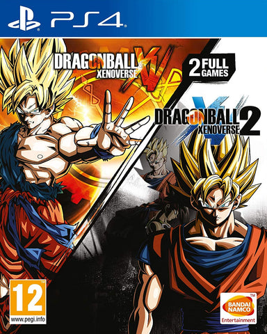 Dragon Ball Xenoverse and Dragon Ball Xenoverse 2 Double Pack (PS4) - GameShop Asia