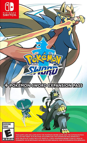 Pokemon Sword + Pokemon Sword Expansion Pass (Nintendo Switch) - GameShop Asia