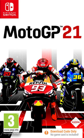 MotoGP 21 (Nintendo Switch/Code in a Box) - GameShop Asia