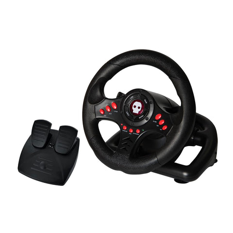Numskull Multi Format Steering Wheel for PC, PS3, PS4, Xbox One - GameShop Asia