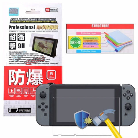 Project Design Nano 9H Screen Protector for Nintendo Switch - GameShop Asia