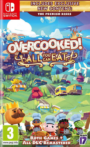 Overcooked! All You Can Eat (Nintendo Switch) - GameShop Asia