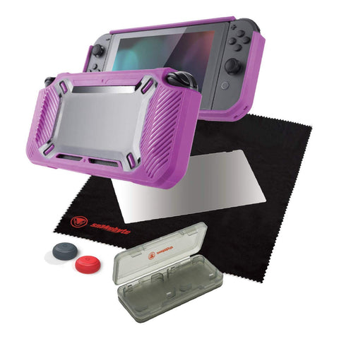 Snakebyte Tough Kit for Nintendo Switch Pink - GameShop Asia