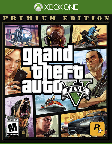 Grand Theft Auto V Premium Edition (Xbox One)