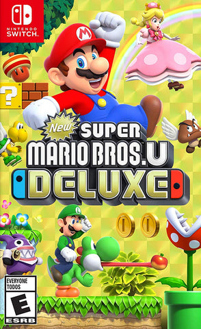 New Super Mario Bros. U Deluxe (Switch) - GameShop Asia
