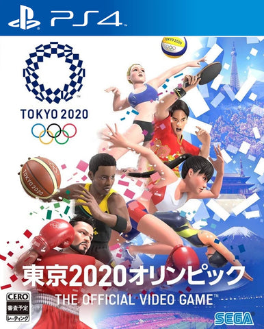 Olympic Games Tokyo 2020: The Official Video Game (PS4) - GameShop Asia