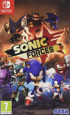 Sonic Forces (Switch) - GameShop Asia