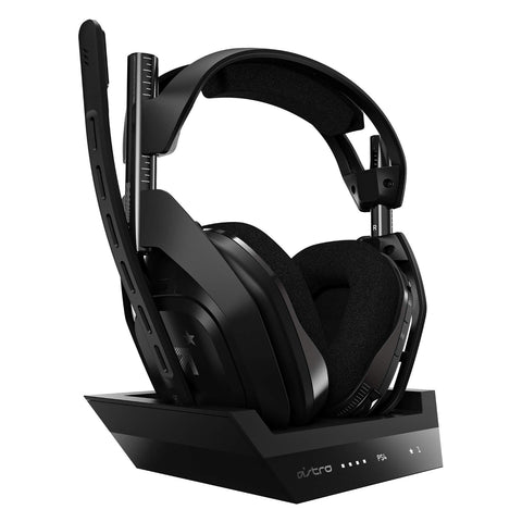 Astro A50 Wireless + Base Station for PlayStation 4 and PC Black/Silver - GameShop Asia