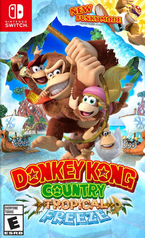 Donkey Kong Country: Tropical Freeze (Switch) - GameShop Asia