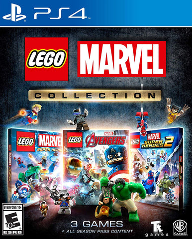 LEGO Marvel Collection (PS4) - GameShop Asia