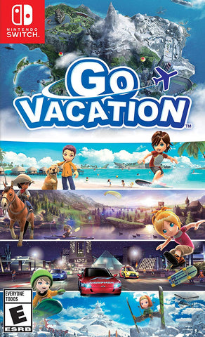 Go Vacation (Switch) - GameShop Asia